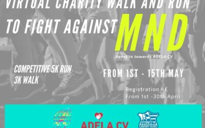 VIRTUAL CHARITY RACE AND WALK TO FIGHT AGAINST MND
